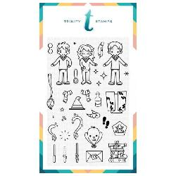 Trinity Stamps Magical Wizards
