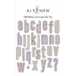 Altenew Tall Alphas Lower Case