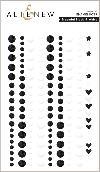 Essential Black & White Enamel Dots