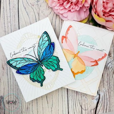 Blog adding sparkle with heat embossing