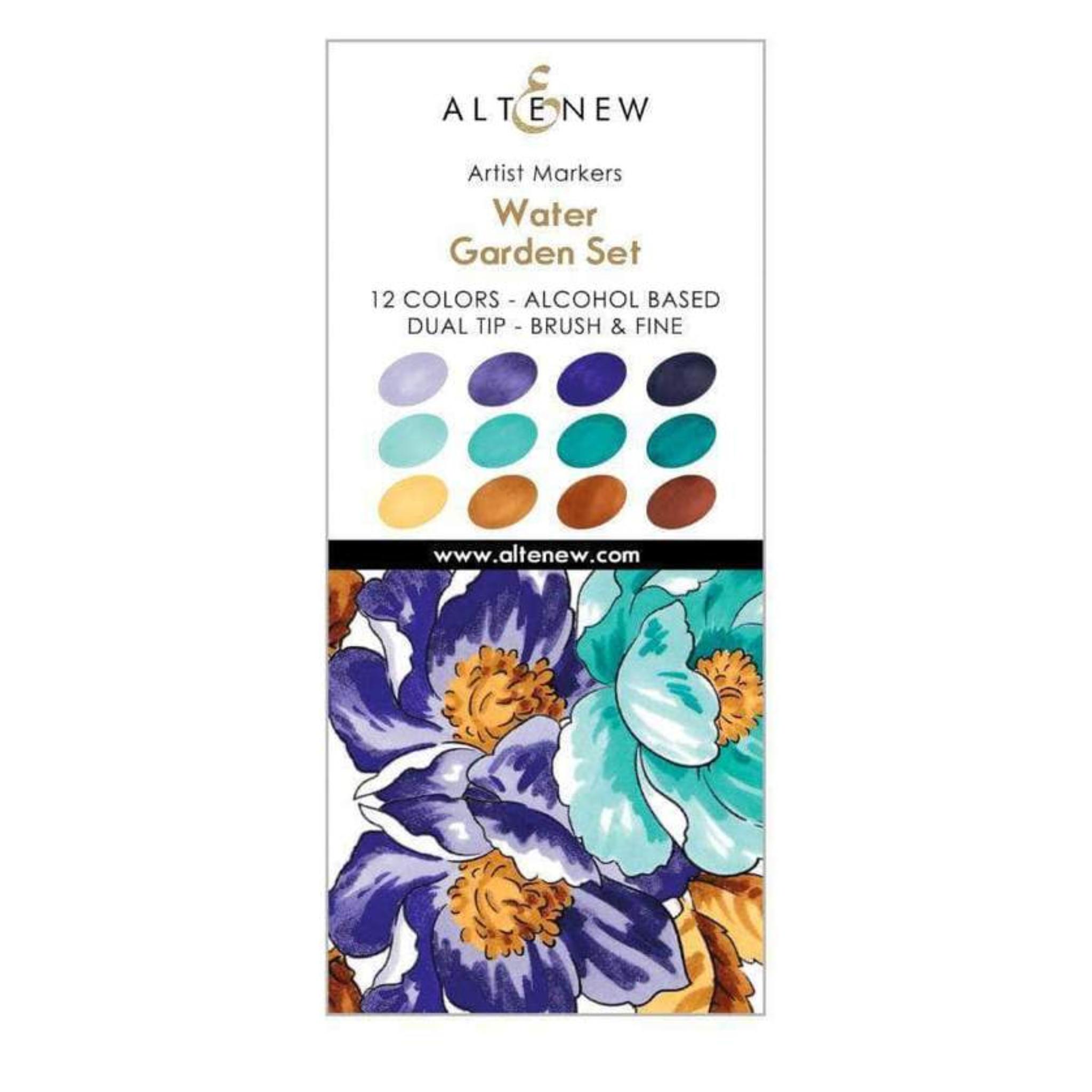 Water Garden Artist Markers