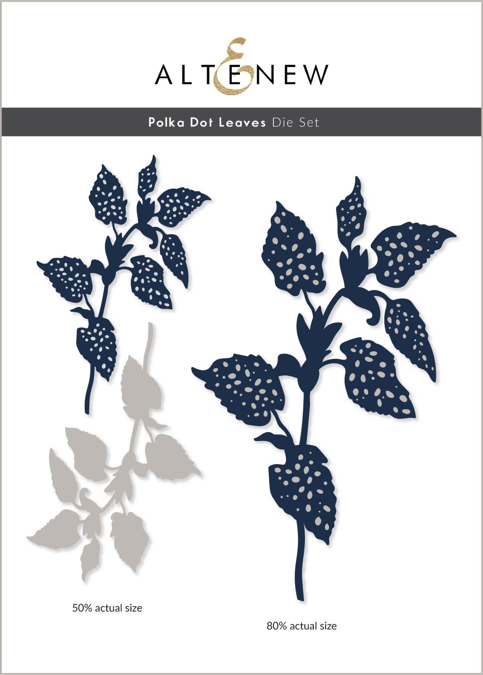 Polka Dot Leaves