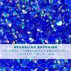 Sparkling Sapphire Embellishments